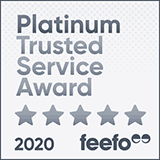 Feefo Platimum Trusted Merchant