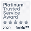 Feefo Platinum Trusted Merchant