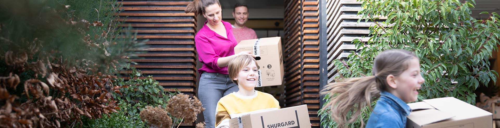 Moving house with Shurgard
