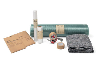 Range of packing materials