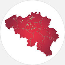 Shurgard locations in Belgium
