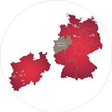 Shurgard-Standorte in Deutschland