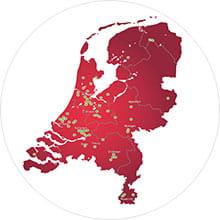 Vestigingen van Shurgard in Nederland