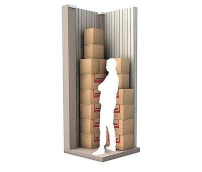 1 m² d'espace de stockage