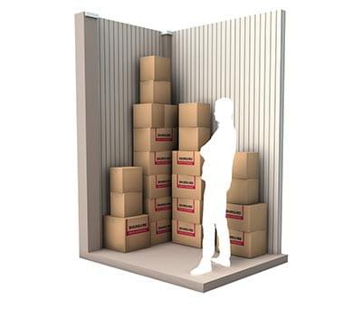 3 m² d'espace de stockage