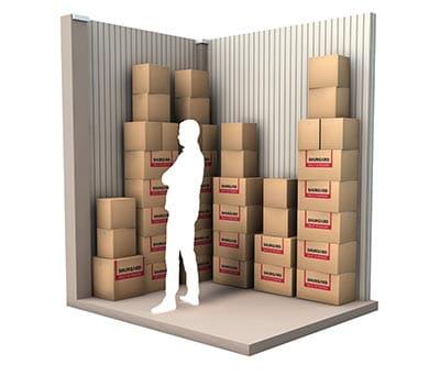 5 m² d'espace de stockage
