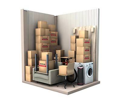 5 m² storage unit