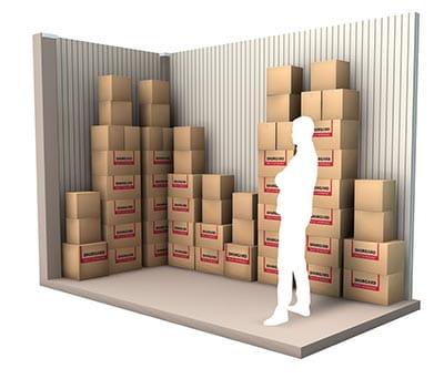 8 m² d'espace de stockage