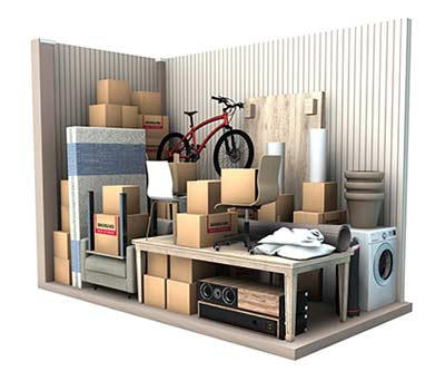 8 m2 opbevaringsrum