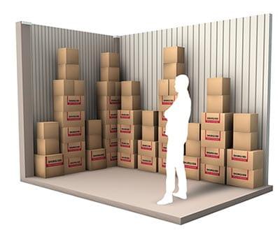 10 m² d'espace de stockage