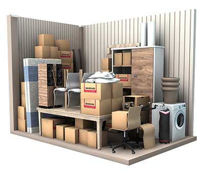 10 m2 opbevaringsrum